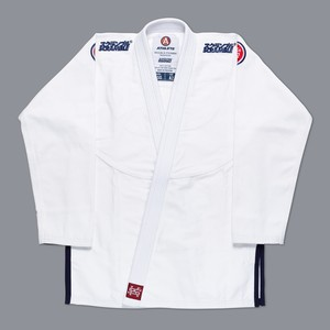 【予約注文受付中】SCRAMBLE ATHLETE 4: 450( ホワイト、白)|ブラジリアン柔術衣