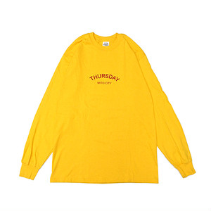 THURSDAY - ARCH L/S TEE (Gold)