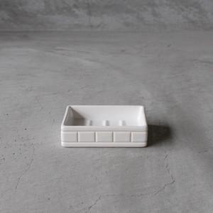 PUEBCO Ceramic Bath Ensemble / Soap Dosh (プエブコ セラミック バス アンサンブル ソープディッシュ)