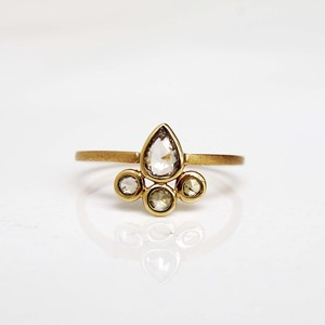 Rose Cut Diamond Ring / Madrid(R125-YD)