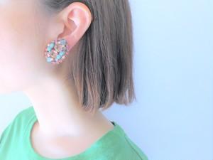 vintage earrings bijou <ER-RBtqpk>