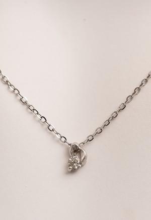 ダイヤモンド ホワイト ゴールド ネックレス