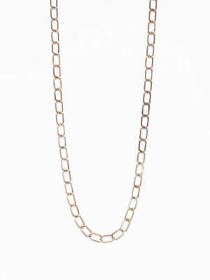 Hexagon Plate Link Necklace / Mexico