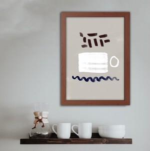 コーヒーカップ / I052 / 北欧ポスター