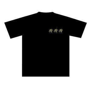 akuma Tシャツ 黒×黄