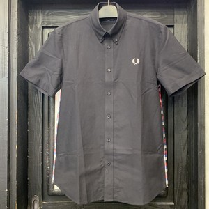 FRED PERRY : TEXTURE MIX S/S SHIRT