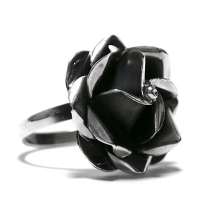 Vintage Sterling Silver Mexican Rose Ring