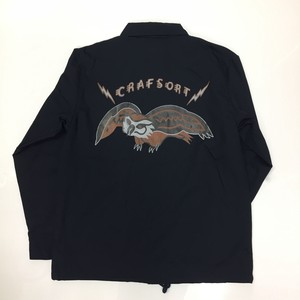 """OWL"" COACH JACKET(Navy)"