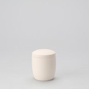 九谷焼 キャンバス骨壷 3寸 素焼き