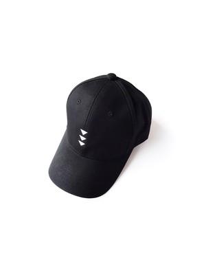帽子3号 「逆鱗(げきりん)」 黒