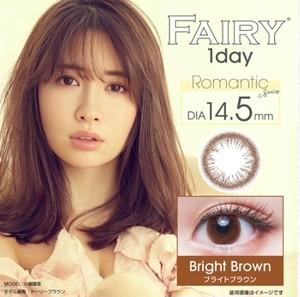 フェアリーワンデーブライトブラウン(FAILY 1day)12枚入