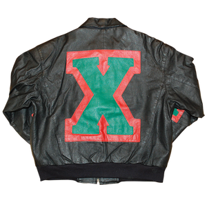 """Phase 2 Malcolm X"" Vintage Lether Jacket Used"