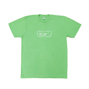 scar /////// OG LOGO TEE (Grass) 4.3oz