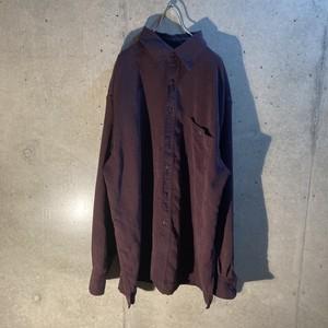 fake suede shirt