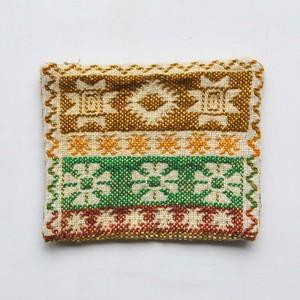 ポーチ ヤノフ村の織物 (sa-2560)