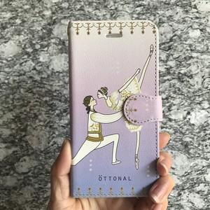 (Android)オーロラパドドゥ 手帳型スマホケース