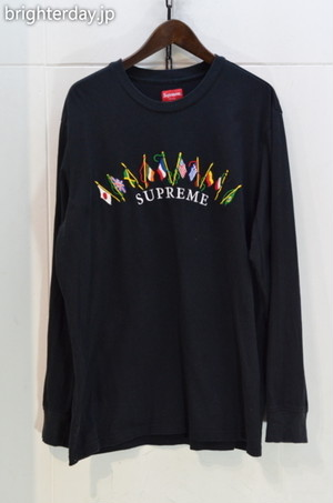 SUPREME Flags L/S Top