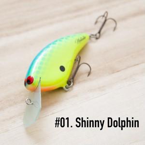 "BRISKY LURES  /  "" Natalie "" / #1. Shinny Dolphin"
