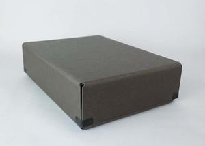 concrete craft (コンクリートクラフト)BENT チャコール A4 W23 × D31,7 × H9cm パスコ ボックス ステーショナリー 機能性 収納雑貨 Craft One