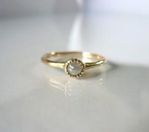 木ノ実のダイヤの指輪(K10)