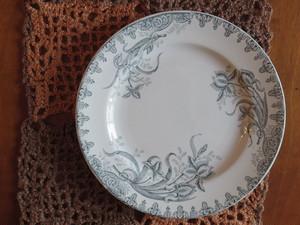 フランスアンティークプレート 皿 I