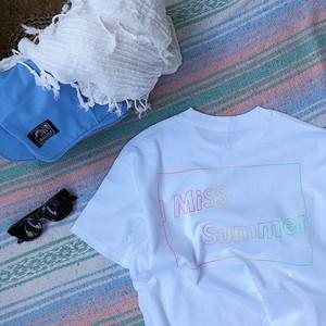 I Miss Summer Tシャツ