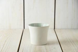 スクラッタ 9cmフリーカップ グリーン[日本製/美濃焼/洋食器]