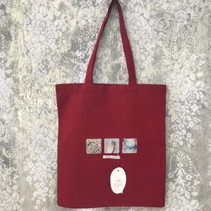 memory tote bag〈red〉No.6