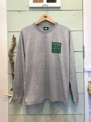 材木座店オリジナル Men's SQUARE-L/HEATHER GRAY
