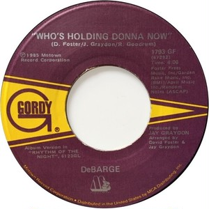 DeBarge – Who's Holding Donna Now / Be My Lady