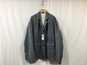 "HOMELESS TAILOR""SAMO JACKET GRAY CH"""