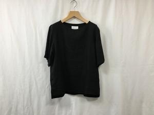 "Women's AUGUSTE-PRESENTATION Pajama Look "" 半袖プルオーバー BLACK"""