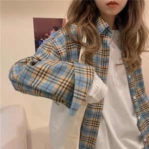 メンズライクチェックシャツ RD6490