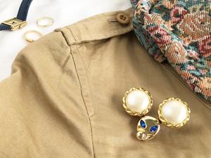 Mimi 3way bag charm ー Big pearl ー