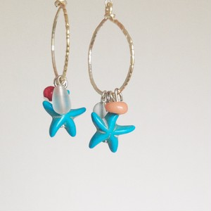 Star fish*シルバーピアス