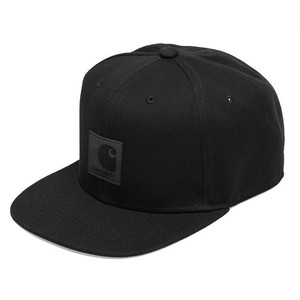 Carhartt (カーハート) LOGO CAP - Black