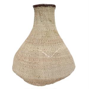 トンガ族の壺型かご 25 ML / Tonga Basket Pot 25 ML