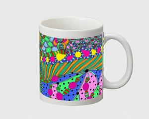 doodle34マグカップ 白