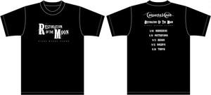 ツアーTシャツ RESTORATION OF THE MOON 〜FINAL BLACK FLAME〜