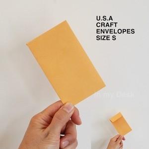 【size, S 】MADE IN USA coin envelopes アメリカの 小さい 封筒 シリーズ Sサイズ10枚セット ポチ袋 envelopes ミニ アメリカ直輸入 洋封筒 小物入れ 小物整理 チェキ封筒
