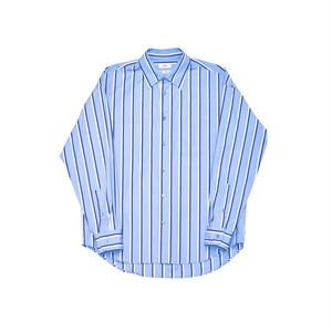 Allege Standard Stripe Shirt Sax  AH19S-SH02