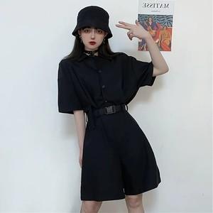 【ワンピース】ストリート系個性的無地ファッションワンピース29195510