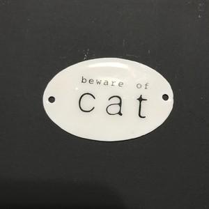 エナメルプレート cat