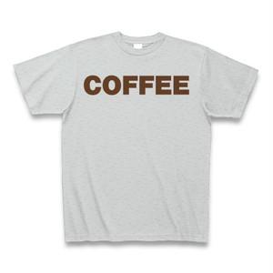 COFFEE Tシャツ グレー
