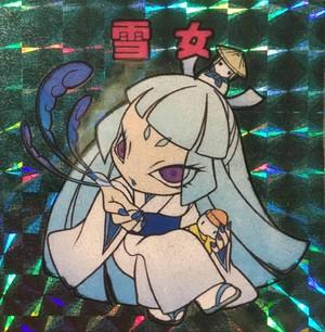 【Kiki☆May】2 雪女ちゃんシール