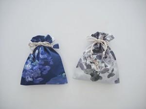 Ajisai巾着ミニポーチ