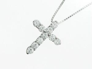 【PT900】2.070ct UP ダイヤモンドネックレス