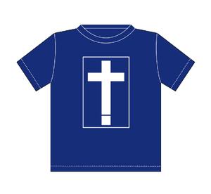 十字架 WAVE Tシャツ
