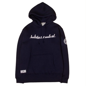 HOLIDAY CONTROL LOGO HOODIE 【HL-001】NAVY