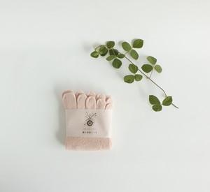 冷え取りシルク5本指靴下   (紅花染め)  温活 出産祝い 妊活  (お色は1枚~6枚目)